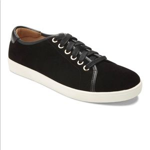 Vionic Brinley Casual Sneaker | Black Suede